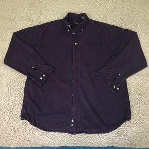 Dark purple Trader Bay button down